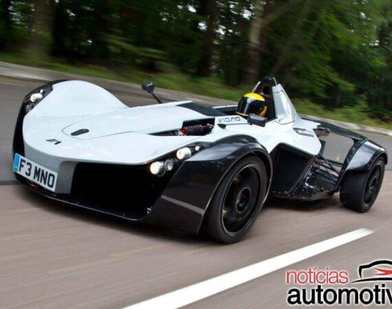 BAC Mono mostra que nióbio torna os carros mais leves