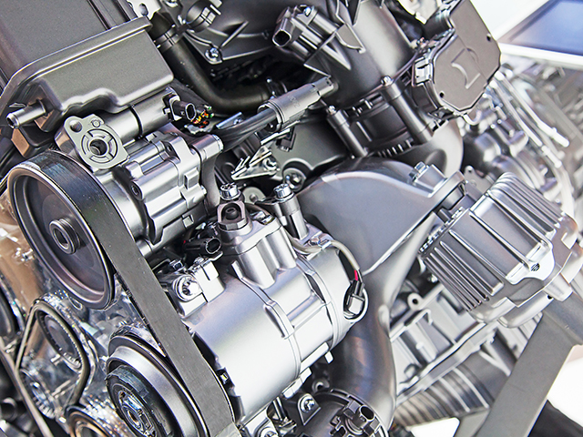 Part of the modern car engine